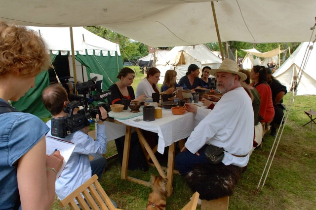 SponTV - Aufnahmen in unserem Lager - Schwabengarten Leinfelden 2013